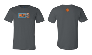 RLT tshirt grey logo